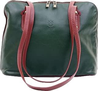 Ladies Italian Soft Leather Large Long Handled Shoulder Bag Handbag, Includes a Branded Protective Storage Bag