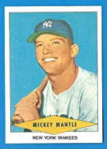 MICKEY MANTLE 1954 Red Heart Reprint Card - Yankees