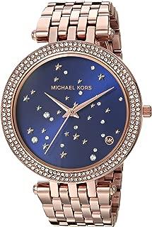 Michael Kors Women's 'Darci' Quartz Stainless Steel Casual Watch, Color:Rose Gold-Toned (Model: MK3728)