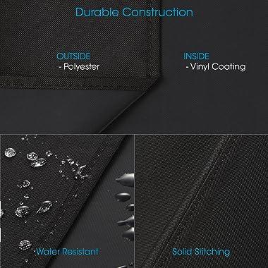 Unicook Heavy Duty Waterproof Grill Cover for Oklahoma Joe's Longhorn Combo Smoker, Outdoor Charcoal/Smoker/Gas Combo Gri