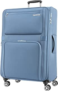 Samsonite Momentus Softside Spinner Luggage 77cm with TSA Lock - Blue