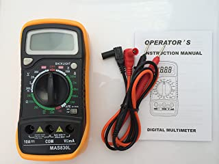 New MAS830L LCD display Digital Multimeter DC/AC Voltage Current/A Resistance/¦¸ Test