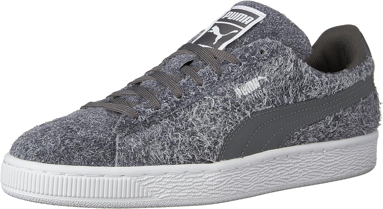 PUMA Women's Suede Elemental Running shoes Grey White