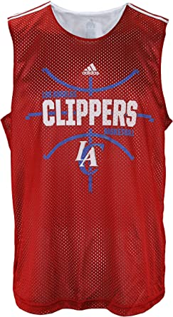 Los Angeles Clippers NBA Men's Hoops Tank - Red