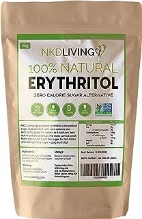 comprar comparacion Eritritol 100 % natural 2 kg | Granulado sustituto del azúcar con cero calorías …