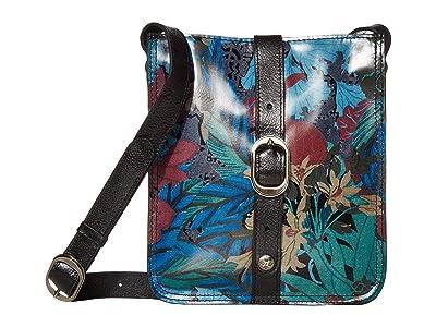Patricia Nash Venezia Crossbody (Blue Forest) Cross Body Handbags