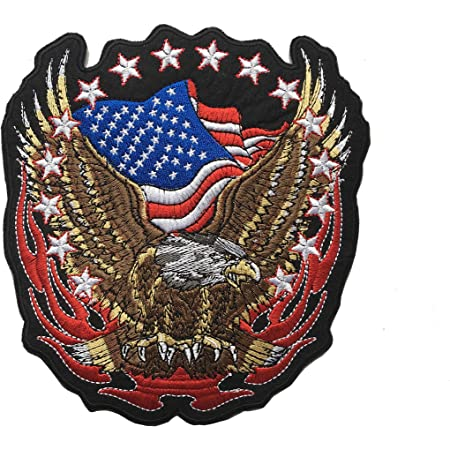 12 Large BORN TO BE FREE FREEDOM Hawk American Bald Eagle Dream Catcher Feather Outlaw MC Biker Punk Rock Heavy Metal Jacket T-shirt Patch Iron on Applique Embroidered Jacket T shirt Sign Costume