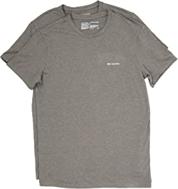 Columbia - Performance Cotton Crew T-Shirt 2-Pack