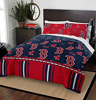 The Northwest Company MLB Boston Red Sox Queen Bed in a Bag Complete Bedding Set #486358546