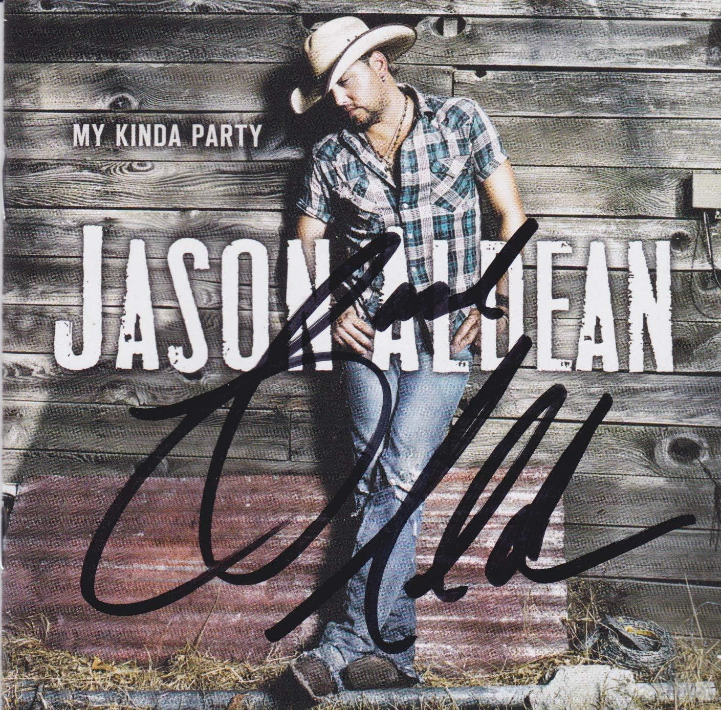 Jason Aldean signed Ranking TOP5 Selling rankings CD