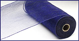 10 inch x 30 feet Deco Poly Mesh Ribbon - Value Mesh (Navy Blue)