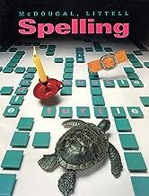 McDougal Littell Spelling: Grade 4 (McDougal School Spelling and Writing)