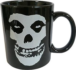 Mugs Misfits Skeleton Logo Designed Mug, 11-Ounce, Black