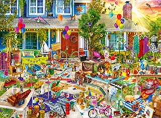 Buffalo Games - Aimee Stewart Yard Sale - 1000 Piece Jigsaw Puzzle
