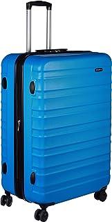 Maleta de viaje rígidaa giratoria - 78 cm, grande, Azul claro