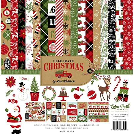 CBVMC72016TM Carta Bella A Very Merry Christmas Collection Kit