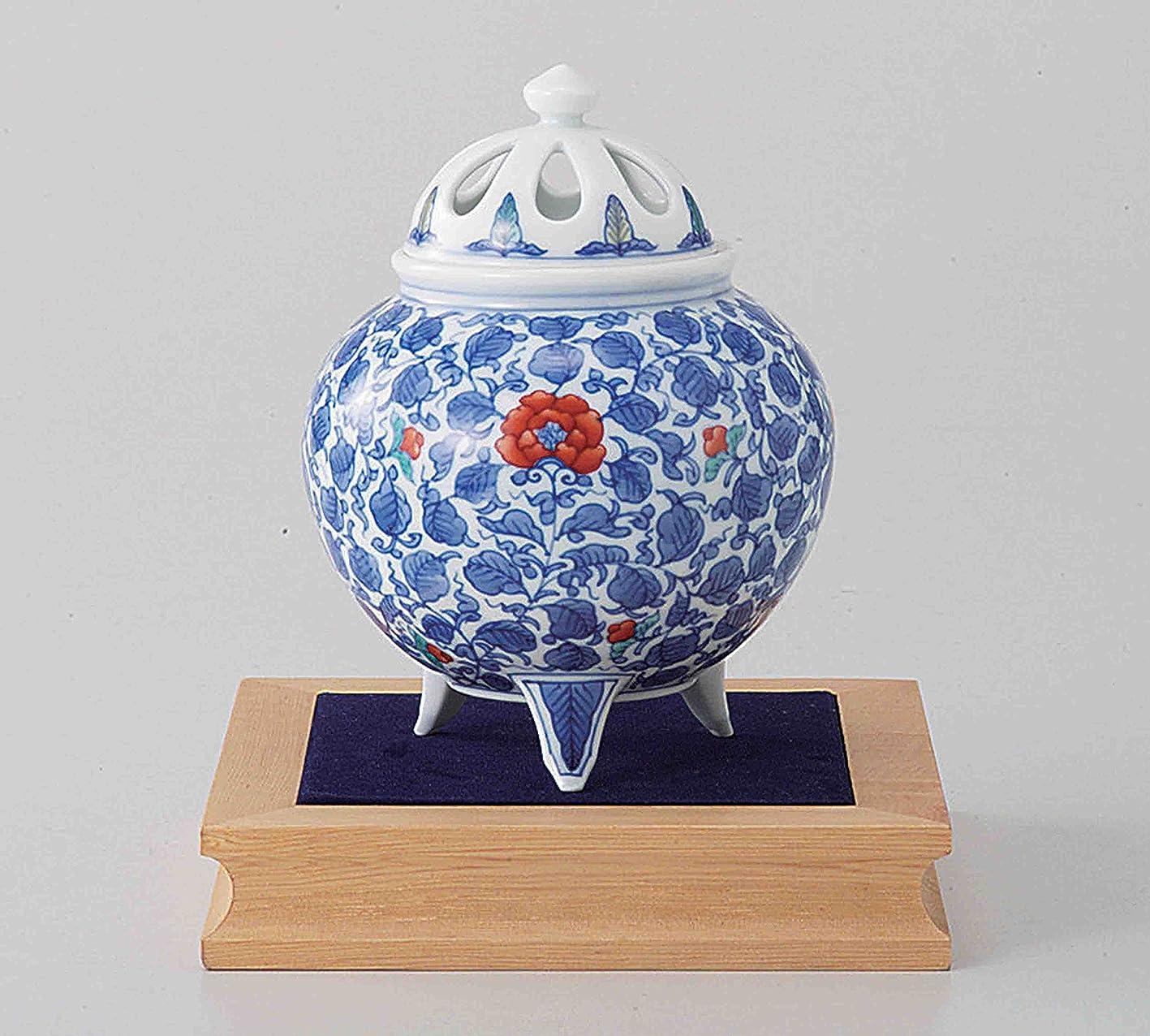 目を覚ます似ている一口東京抹茶Selection?–?[プレミアム] Arita Porcelain Cencer : Arabesque?–?Incense BurnerホルダーWベース&ボックス日本から[ EMSで発送標準: withトラッキング&保険]