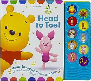 Disney Baby Winnie the Pooh - Head to Toe! 10-Button Sound Book - PI Kids (Disney Baby: Play-a-Sound)