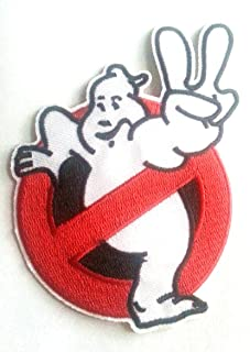 GHOSTBUSTERS III Movie No Ghosts Embroidered Logo PATCH