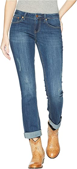 Wrangler Retro Crop Length Mae Mid-Rise Jeans