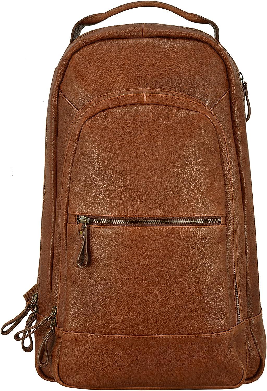 Smart Range Ashwood Cowhide Leather Backpack Bag Stylish Gym Travel Arron Honey Leather Bag