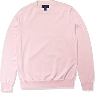 Amazon Brand - Buttoned Down Men's 100% Supima Cotton Crew Neck Sweater
