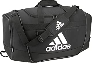 adidas duffle bag black