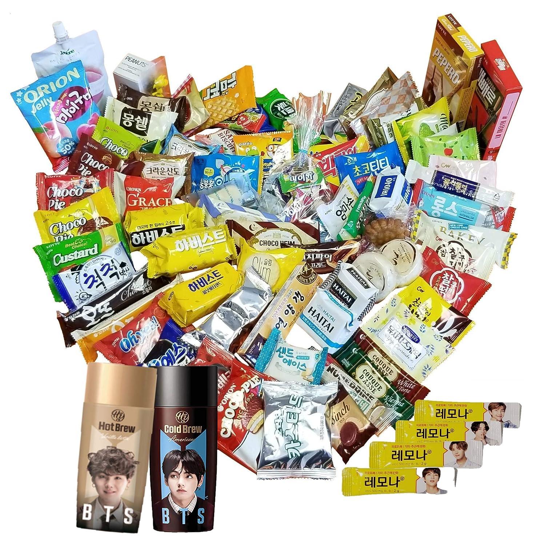 K-POP BTS Care Over 80 Snack Gift Box