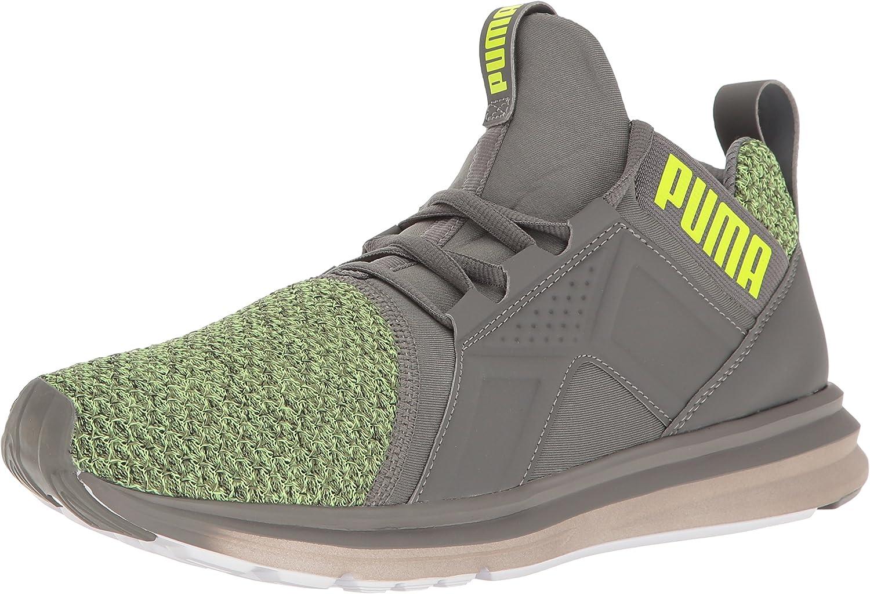 PUMA Mens Enzo Knit Cross-Trainer shoes