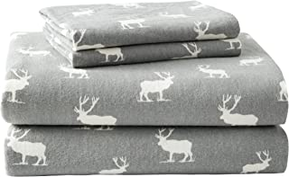 Eddie Bauer – Flannel Collection – 100% Premium Cotton Bedding Sheet Set,..