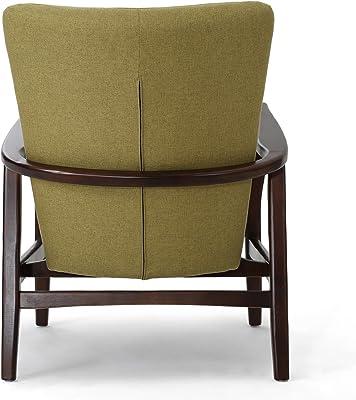 Amazon.com: GDF Studio Suffolk - Juego de 2 sillones de tela ...