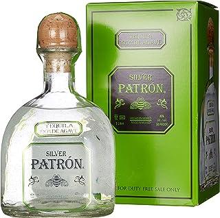 Patrón Tequila Silver mit Geschenkverpackung 1 x 1 l