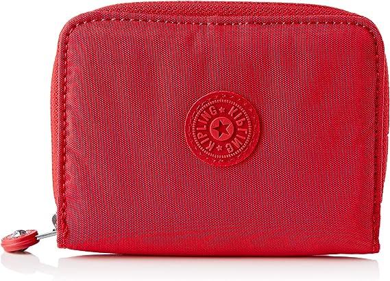 Kipling Money Love, Wallets para Mujer, Color Rojo, 2.5x9.5x12.5 cm (LxWxH)