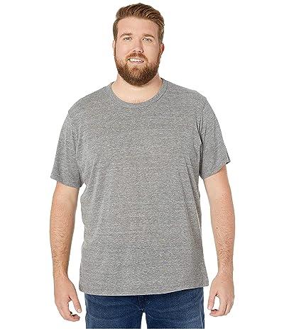 Alternative Big Tall Eco Crew T-Shirt (Eco Grey) Men