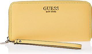 حقيبة جورجيانا جلدية صغيرة بسحاب محيطي كبير من جيس، اصفر