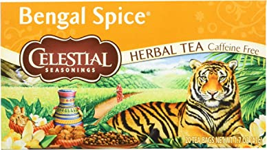 Celestial Bengal Spce Herbal Tea 20 Teabags