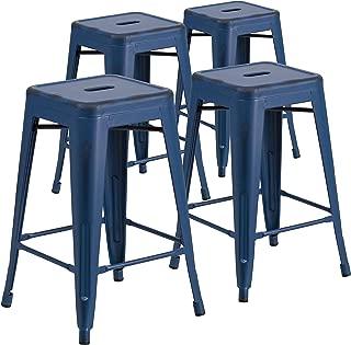 flash furniture metal stool