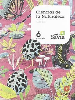 Ciencias de la naturaleza. 6 Primaria. Mas Savia. KC. Andalucía