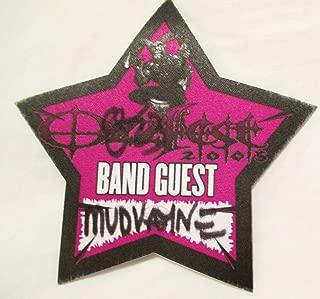 2005 8/23 OzzFest Backstage Pass Band Guest Mudvayne Albuquerque NM