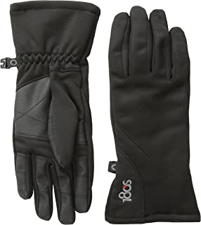 Women's Weekender Touch Screen Glove with Faux Leather Palm