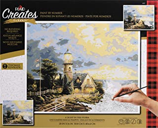 Plaid Creates 4387 Light in The Storm Paint by Number Kit, 16