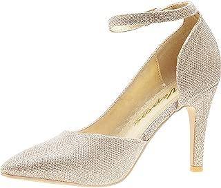 VEPOSE Women's Sexy D'Orsay Pumps Stiletto High Heel...