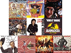 Weird Al Yankovic: Ultimate Comedy Collection 10 Studio Album CD Collection (Mandatory Fun / Alapalooza / Even Worse and More)