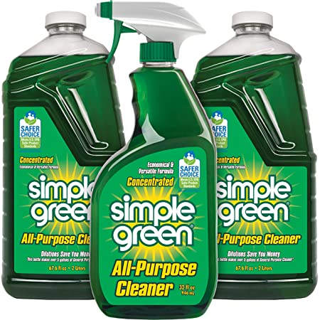 Simple Green AllPurpose Cleaner Spray and Refill, Green, 3 Piece Set, Original, 1 Count