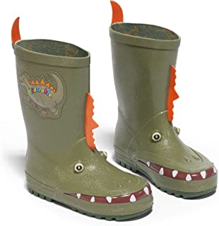 Kidorable Boys` Little Kid (4-8 Years) Dinosaur Rain Boot