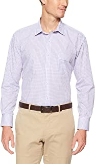 Van Heusen Men's Classic-Relaxed Fit Check Business Shirt