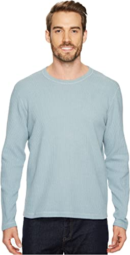 Agave Denim - Pearl Long Sleeve Crew Seersucker Shirt