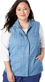 Women's Plus Size Utility Vest