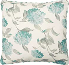Laura Ashley Rosemary Decorative Pillow, 20 x 20, White/Blue