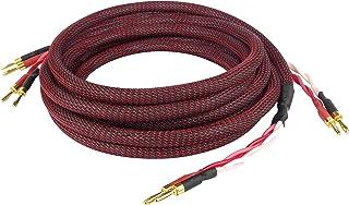 Dynavox Perfect Sound Lautsprecherkabel, Paar, Flexibles High-End Lautspecher-Kabel mit..